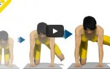 臀部訓練-屈膝 同時向一側外挺